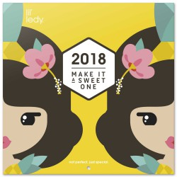 Calendario 2018 Lil´ledy