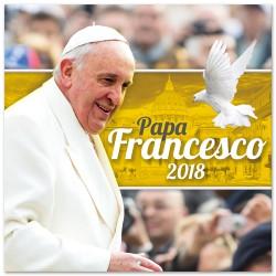 Calendario 2018 Papa Francisco