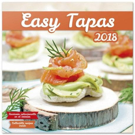 Calendario 2018 Easy Tapas