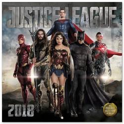 Calendario 2018 Dc Comic Justice League