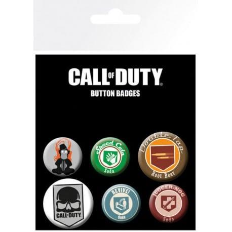 Pack de Chapas Call of Duty Mix