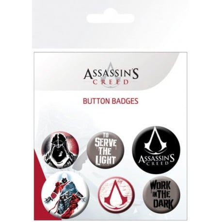 Pack de Chapas Assassins Creed Mix