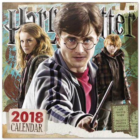 Calendario 2018 Harry Potter