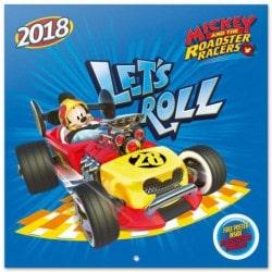 Calendario 2018 Mickey Y Los Super Bolidos