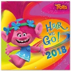 Calendario 2018 Trolls