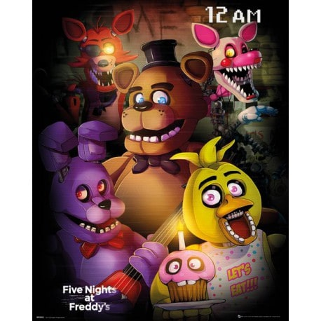Mini Poster Five Nights At Freddy's Grupo