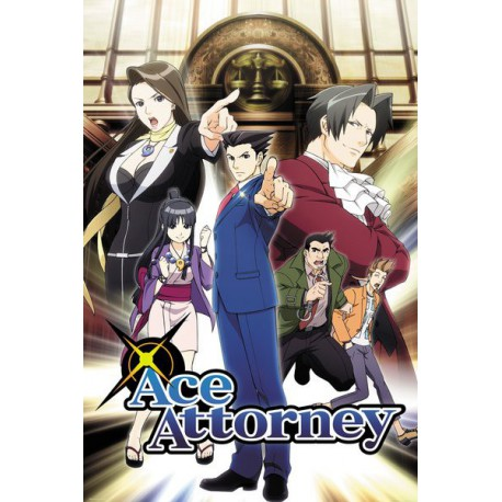 Maxi Poster Ace Attorney Key Art