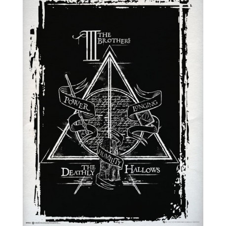 Mini Poster Harry Potter Deathly Hallows Graphic