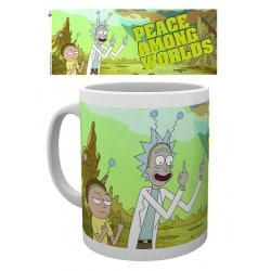 Taza Rick and Morty Paz