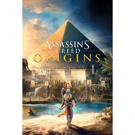 Poster Assassins Creed Origen Piramide