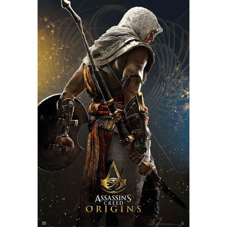Poster Assassins Creed Origen Heroe