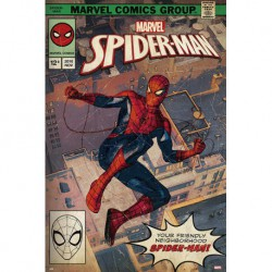 Poster Marvel Spider-Man Portada Comic