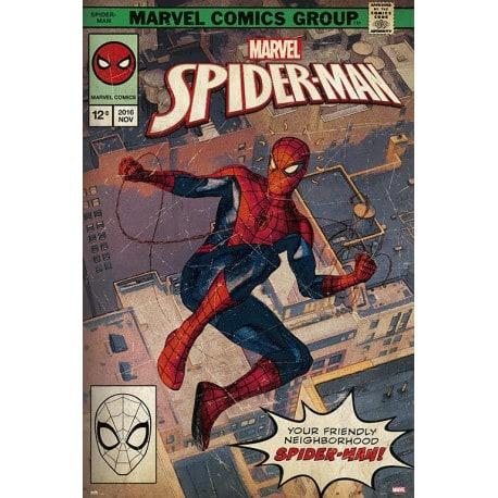 Poster Marvel Spider-Man Portada Comic