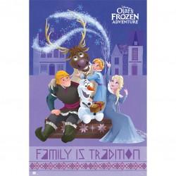 Poster Frozen Personajes