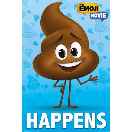 Poster Los Emoji (Poop Happens)
