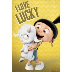 Poster Mi Villano Favorito 3 (I Love Lucky)
