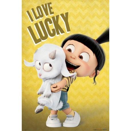 Poster Mi Villano Favorito 3 (I Love Lucky)