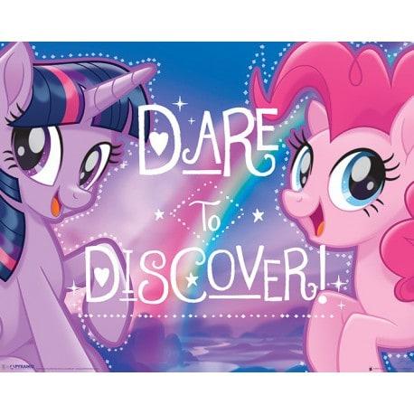 Mini Poster Mi Pequeño Pony (Dare to Discover)