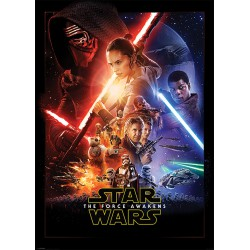 Poster Gigante Star Wars VII One Sheet