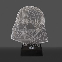 Lampara Darth Vader Efect 3D