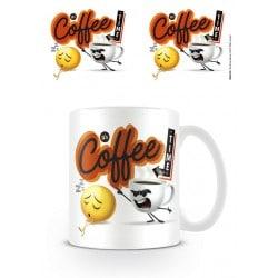 Taza Emoji It's Coffe Time