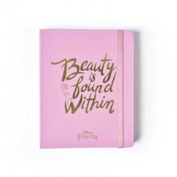 Notebook Premium Plus A5 La Bella y la Bestia Beauty Is Found Within