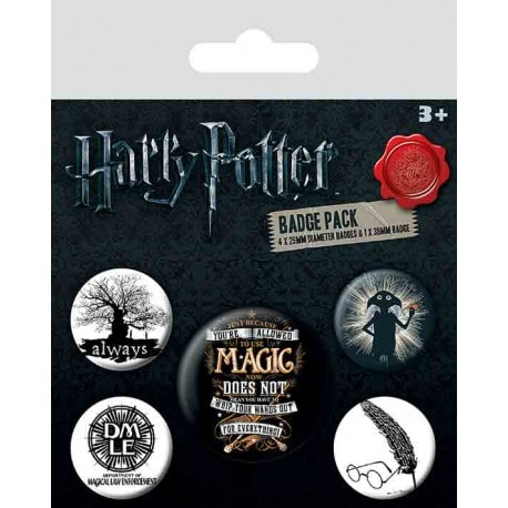 Pack de Chapas Harry Potter Simbolos