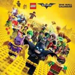Calendario 2018 Lego Batman