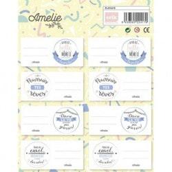 Etiquetas Amelie (en francés)