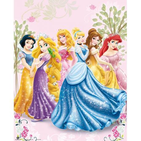 Miniposter Princesas
