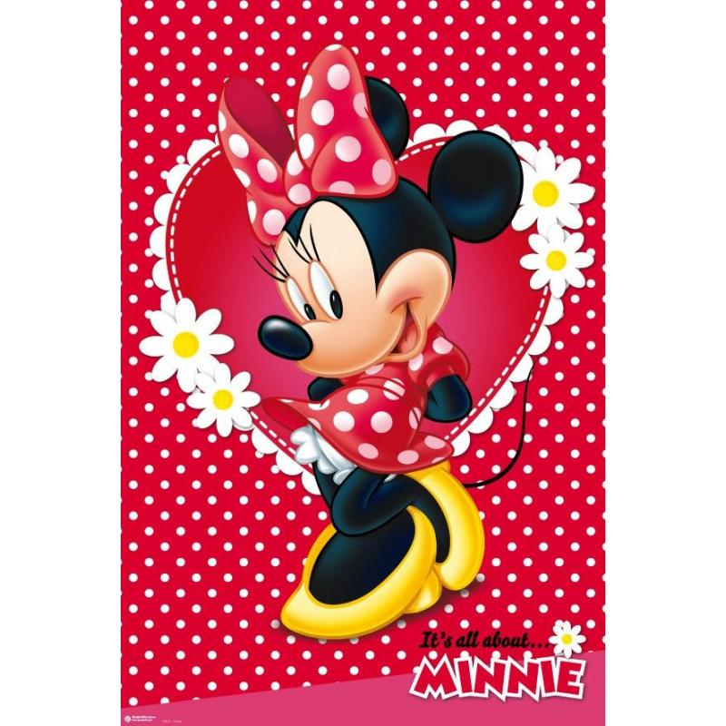 el poster disney minnie mouse de mejor calidad y precio en. Black Bedroom Furniture Sets. Home Design Ideas