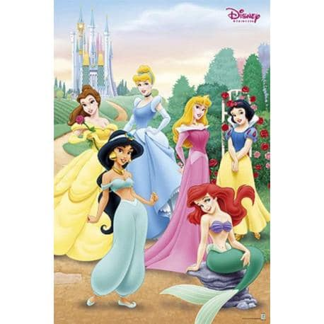 Poster Disney Princesas