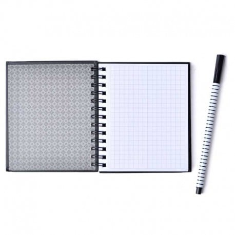 Mini Note Book Tapa Dura Real Madrid 1