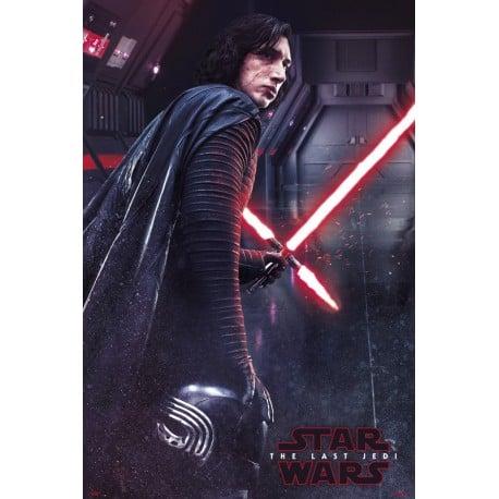 Poster Star Wars VIII Kylo Ren
