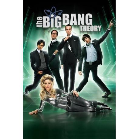 Poster Big Bang Theory Barbarella