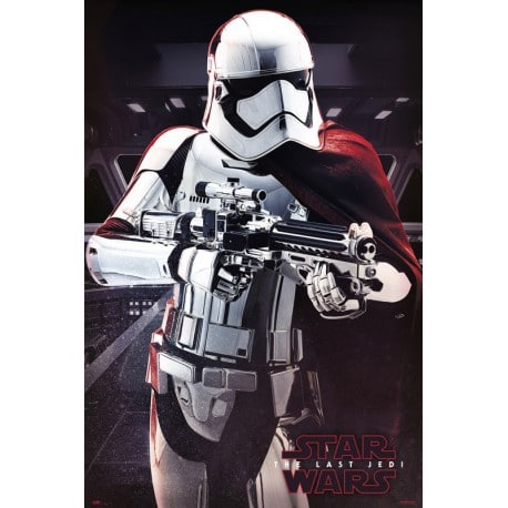 Poster Star Wars VIII Capitan Phasma