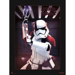 Lámina 30X40 Cm Star Wars Viii Executioner Trooper