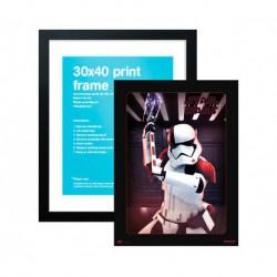 Lamina 30X40 cm Star Wars VIII Executioner Trooper + Marco