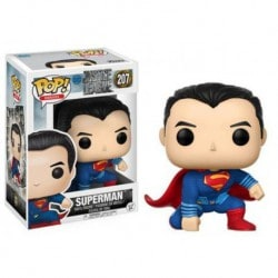 Figura Pop Dc Justice League Superman- 9 cm