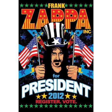 Poster Frank Zappa Para Presidente