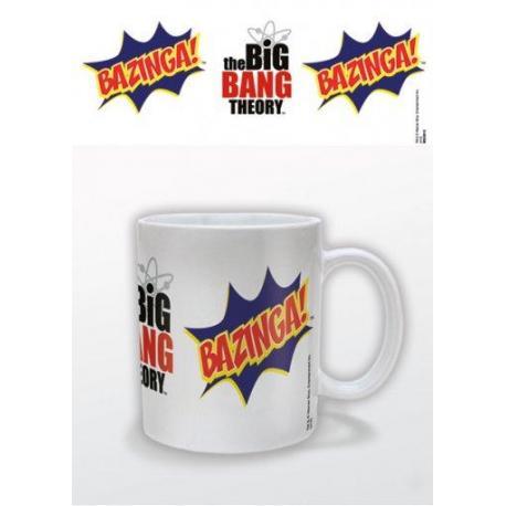 Taza Big Bang Theory Bazinga Burst