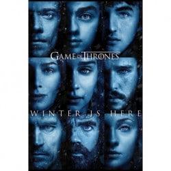 Poster Juego de Tronos Winter Is Here