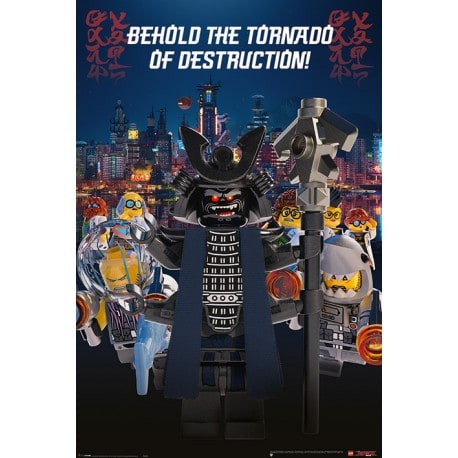 Poster Lego Ninjago Garmadon Destruction