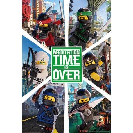 Poster Lego Ninjago Six Ninjas