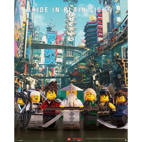Mini Poster Lego Ninjago Hide In Plain Sight