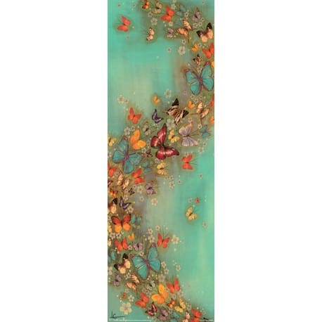 Poster Slim Lily Greenwood Chinese Green
