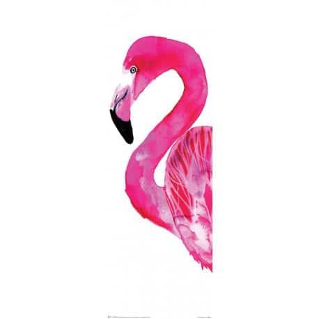 Póster Slim Sofie Rolfsdotter Flamingo Vertical Alargado