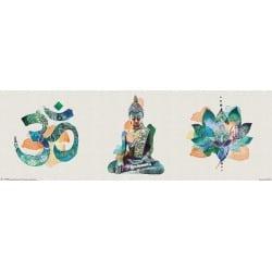 Poster Slim Summer Thornton Yoga Triptych