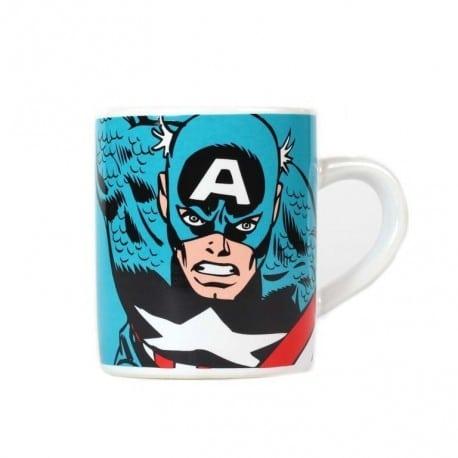 Taza Mini Marvel Capitan America
