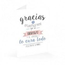 Tarjeta Felicitacion A4 Amelie 3